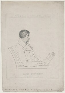 John Cartwright, by and published by Adam Buck - NPG D43264
