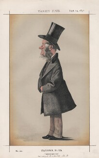 George Henry Charles Byng, 3rd Earl of Strafford ('Statesmen, No. 124.'), by James Jacques Tissot - NPG D43553
