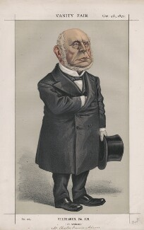 Charles Francis Adams Sr ('Statesmen, No. 126.'), by Thomas Nast - NPG D43556