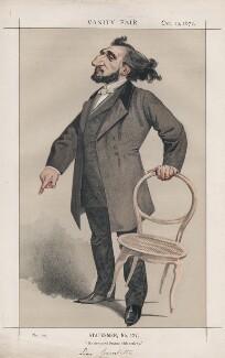 Léon Gambetta ('Statesmen, No. 127.'), by Charles Auguste Loye ('M.D' or Montbard) - NPG D43558
