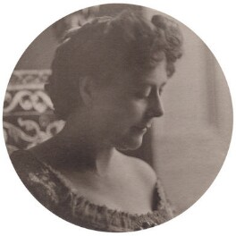 Mrs Alec Tweedie (Ethel Brilliana Tweedie, née Harley), by E.O. Hoppé - NPG x199012