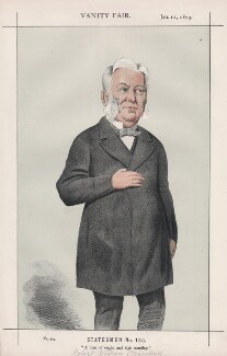 Robert Wigram Crawford ('Statesmen No. 135.'), by Melchiorre Delfico - NPG D43570