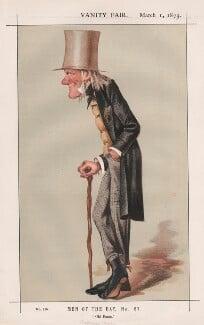 Sir Richard Owen ('Men of the Day, No. 57.'), by Sir Leslie Ward - NPG D43577