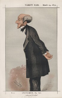 John Stuart Mill ('Statesmen, No. 141.'), by Sir Leslie Ward - NPG D43581