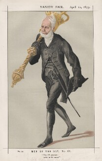 Lord Charles James Fox Russell ('Men of the Day, No. 61.'), by James Jacques Tissot - NPG D43583