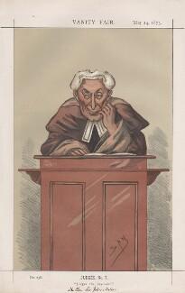 Sir John Mellor ('Judges, No. 7.'), by Sir Leslie Ward - NPG D43589