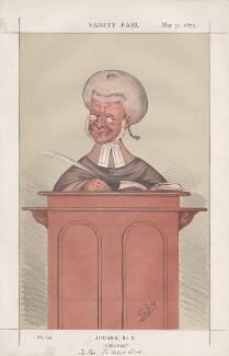 Sir Robert Lush ('Judges, No. 8.'), by Sir Leslie Ward - NPG D43590