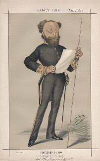 Lord Otho Augustus Fitzgerald ('Statesmen, No. 150.'), by Sir Leslie Ward - NPG D43600