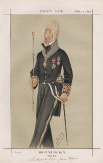Sir Augustus William James Clifford, 1st Bt ('Men of the Day, No. 70.'), by Sir Leslie Ward - NPG D43609