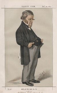 Edward Matthew Ward ('Men of the Day, No. 74.'), by Sir Leslie Ward - NPG D43619