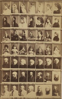 Various actresses, politicians, philanthropists and others, by and after Elliott & Fry - NPG Ax139922