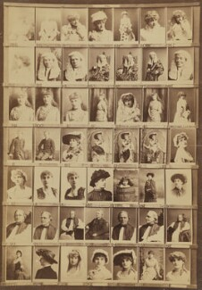 Various actresses and others, by and after Elliott & Fry - NPG Ax139923