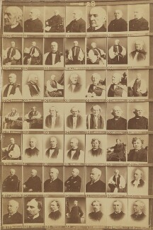 Various Bishops and others, by and after Elliott & Fry - NPG Ax139925