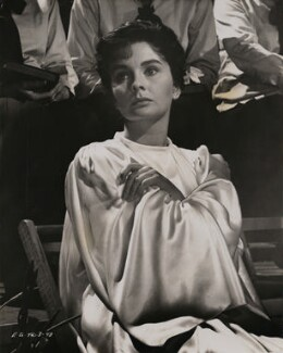 Jean Simmons as Sister Sharon Falconer in 'Elmer Gantry', by Al St Hilaire - NPG x199021