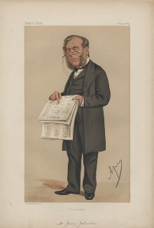 James Johnstone ('Men of the Day. No. 80. '), by Carlo Pellegrini - NPG D43627