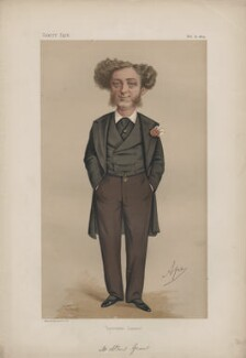 Albert Grant, Baron Grant (né Abraham Gottheimer) ('Statesmen, No. 162.'), by Carlo Pellegrini - NPG D43628