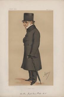 Joseph Warner ('J.W.') Henley ('Statesmen. No. 168.'), by Carlo Pellegrini - NPG D43637