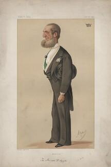 Victor Emmanuel Taparelli, Marchesi d'Azeglio (Men of the Day. No. 84.'), by Carlo Pellegrini - NPG D43645