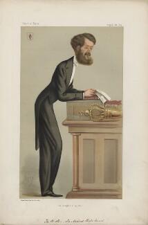 Michael Edward Hicks Beach, 1st Earl St Aldwyn ('Statesmen. No. 182.'), by Carlo Pellegrini - NPG D43654