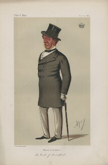Orlando George Charles Bridgeman, 3rd Earl of Bradford ('Statesmen. No. 188.'), by Carlo Pellegrini - NPG D43663
