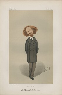 Algernon Charles Swinburne ('Men of the Day. No. 91.'), by Carlo Pellegrini - NPG D43667