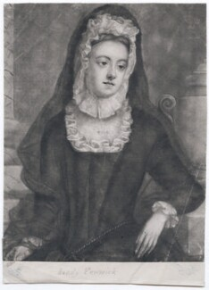 Lady Mary Fenwick (née Howard), by George Lumley, after  Michael Dahl - NPG D43265