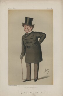 Sir William Howard Russell ('Men of the Day. No. 96.'), by Carlo Pellegrini - NPG D43675