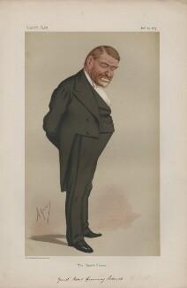 Robert Cumming Schenck ('Statesmen. No. 193.'), by Carlo Pellegrini - NPG D43676