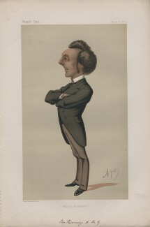 Sir John Pope-Hennessy ('Men of the Day. No. 100.'), by Carlo Pellegrini - NPG D43685
