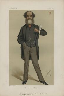 Sir George Samuel Jenkinson, 11th Bt ('Statesmen. No. 200.'), by Carlo Pellegrini - NPG D43689