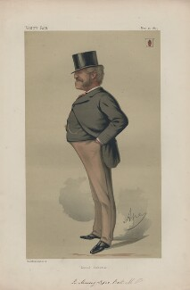 Sir Lopes Massey Lopes, 3rd Bt ('Statesmen. No. 202.'), by Carlo Pellegrini - NPG D43692