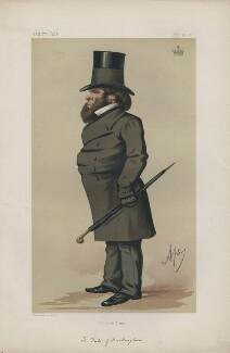 Richard Grenville, 3rd Duke of Buckingham and Chandos ('Statesmen. No. 203.'), by Carlo Pellegrini - NPG D43694