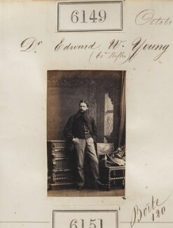 Edward William Young, by Camille Silvy - NPG Ax56095