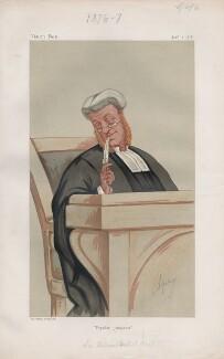 William Baliol Brett, 1st Viscount Esher ('Judges. No. 10.'), by Carlo Pellegrini - NPG D43725