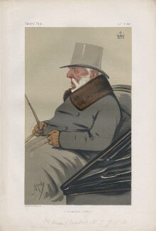 George Hay, 8th Marquess of Tweeddale ('Statesmen. No. 217.'), by Carlo Pellegrini - NPG D43726