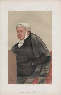 George William Wilshere Bramwell, Baron Bramwell ('Judges. No. 11.'), by Sir Leslie Ward - NPG D43729