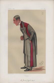 Sir James Paget, 1st Bt ('Men of the Day. No. 121.'), by Sir Leslie Ward - NPG D43731