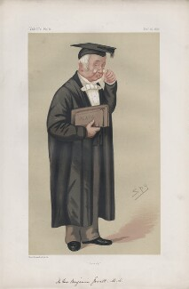 Benjamin Jowett ('Men of the Day. No. 124.'), by Sir Leslie Ward - NPG D43733