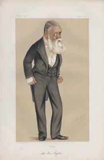 Tom Taylor ('Men of the Day. No. 126.'), by Sir Leslie Ward - NPG D43735