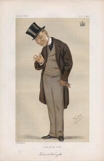 George Byng, 7th Viscount Torrington ('Statesmen. No. 220.'), by Sir Leslie Ward - NPG D43740