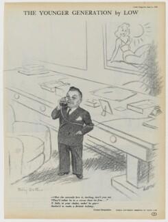 Billy Butlin, after Sir David Low - NPG D43350