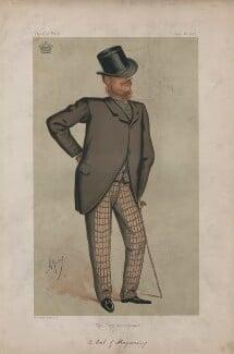 William Nevill, 1st Marquess of Abergavenny ('Statesmen. No. 207.'), by Carlo Pellegrini - NPG D43698