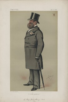 Sir Henry Josias Stracey, 5th Bt ('Men of the Day. No. 106.'), by Carlo Pellegrini - NPG D43700