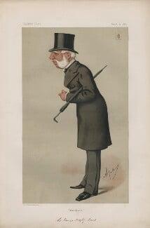 Sir Thomas Bazley, 1st Bt ('Statesmen. No. 212.'), by Carlo Pellegrini - NPG D43706
