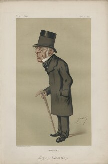 Sir George Biddell Airy ('Men of the Day. No. 115.'), by Carlo Pellegrini - NPG D43718