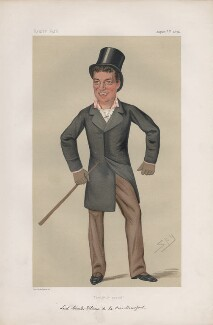 Charles William de la Poer Beresford, Baron Beresford ('Statesmen. No. 231.'), by Sir Leslie Ward - NPG D43757