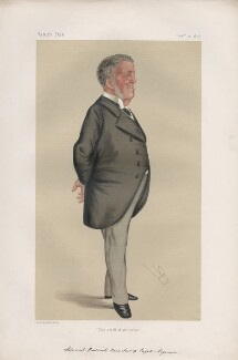 Frederick Beauchamp Paget Seymour, 1st Baron Alcester ('Men of the Day. No. 136.'), by Sir Leslie Ward - NPG D43761