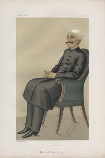 Sir Salar Jung ('Statesmen. No. 234.'), by Sir Leslie Ward - NPG D43766