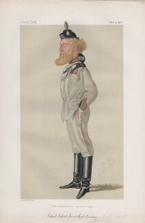 Robert James Loyd-Lindsay, Baron Wantage ('Statesmen. No. 235.'), by Sir Leslie Ward - NPG D43769
