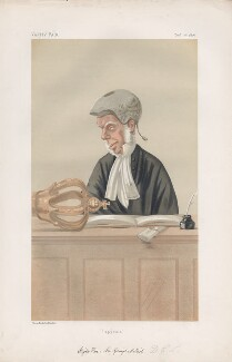 Sir George Mellish. ('Judges. No. 13.'), by Sir Leslie Ward - NPG D43777